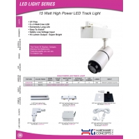 15W High Power LED Track Light