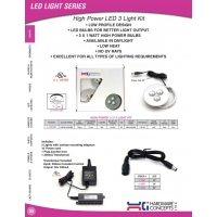 High Power LED 3 Light