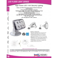 High Power LED 110v Security Lighting