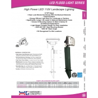 High Power LED 110V Landscape Lighting