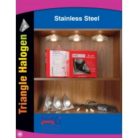 Stainless Steel Triangle Light
