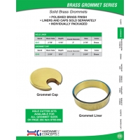 Solid Brass Grommets