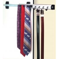 SIDE MOUNT BELT & TIE RACK PULL OUT ‐ 8.04010