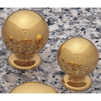 30 m.m. BALL POLISHED BRASS ‐ 4215