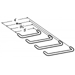 4 Inch WIRE PULL STAINLESS STEEL ‐ 4428‐100