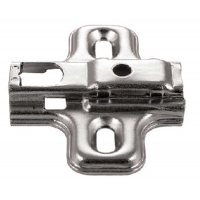 1 PIECE SNAP HINGE PLATE 0 m.m. EURO SCREWS ‐ 4.798600
