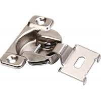 .75 Inch OVERLAY FACE FRAME HINGE 1 PIECE including DOWELS ‐ 4.610006