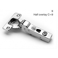 110 SOFT CLOSE HALF OVERLAY SNAP HINGE ‐ 4.721009