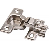 .5 Inch OVERLAY FACE FRAME HINGE 1 PIECE including DOWELS ‐ 4.610002
