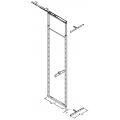 49.75 Inch by 59 Inch ADJUSTABLE PANTRY FRAME PULL OUT ‐ 7.34000