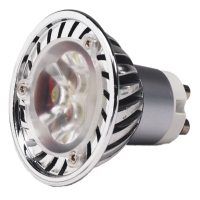 HIGH POWER 6W LED GU-10 COOL WHITE BULB - 5.95006CF