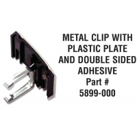 METAL CLIP including DOUBLE SIDED ADHESIVE TAPE ‐ 5899‐000