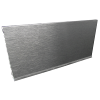 13' PVC 150mm Aluminum Foiled Cabinet Toe Kick 150mm Height - 5191-1250