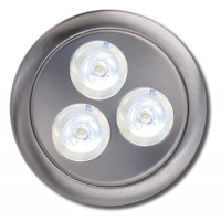 3 WATTS HIGH POWER LED PUCK LIGHT including POWER SUPPLY ‐ 5.12075‐078