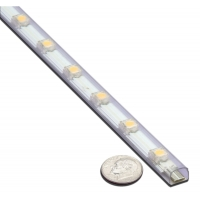 12 Inch 2.5 WATTS LED CLEAR STRIP LIGHT COOL ‐ 5.12093C