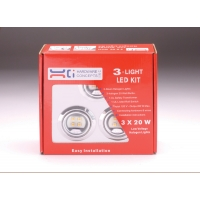 LED 12V 1 WATT SUPER BRIGHT 3 LIGHT KIT ‐ 5.12321